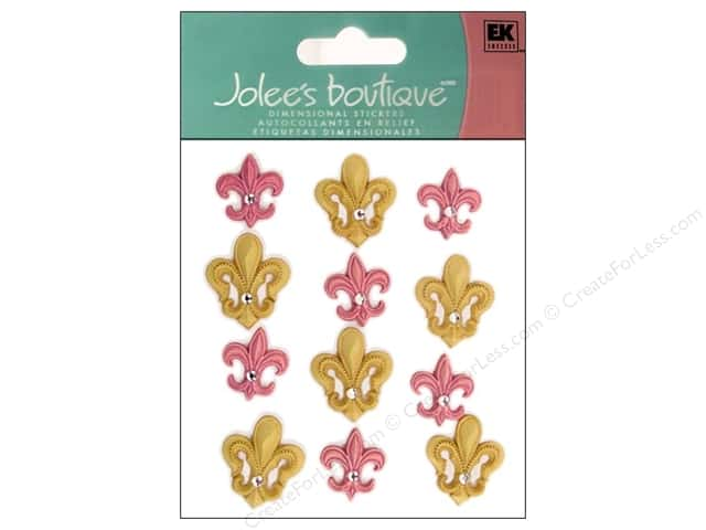 Jolee's Boutique Stickers Around The World Fleur Di Lis
