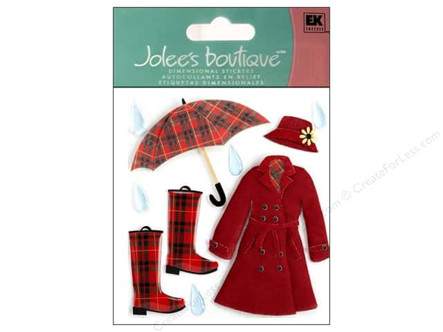Jolee's Boutique Stickers Around The World London Rain