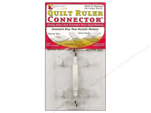 Guidelines 4 Quilting Tools Ruler Connector