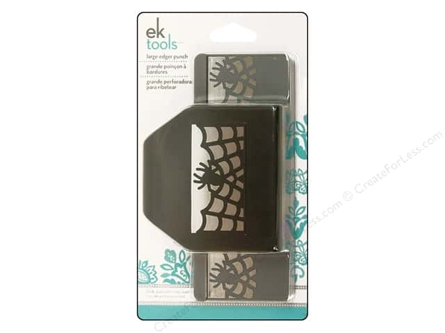 EK Paper Shapers Large Edger Punch Spider In Web