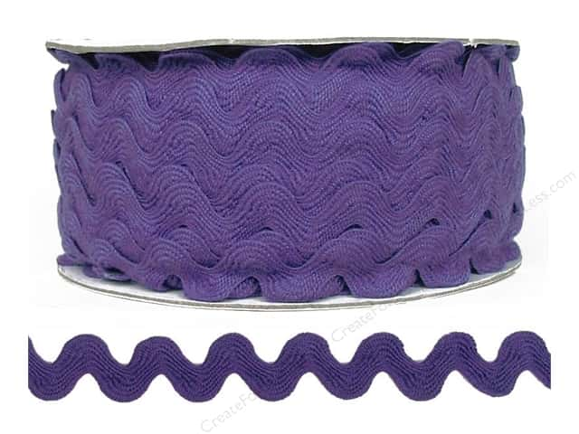 Ric Rac by Cheep Trims  11/16 in. Hyacinth (24 yards)