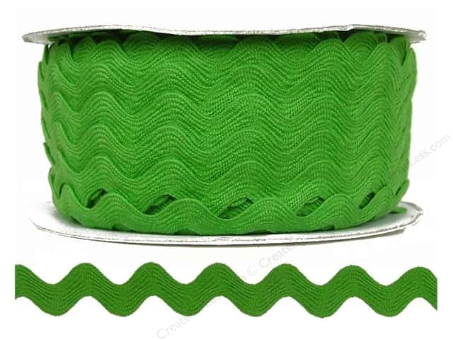 Ric Rac by Cheep Trims  11/16 in. Lime (24 yards)