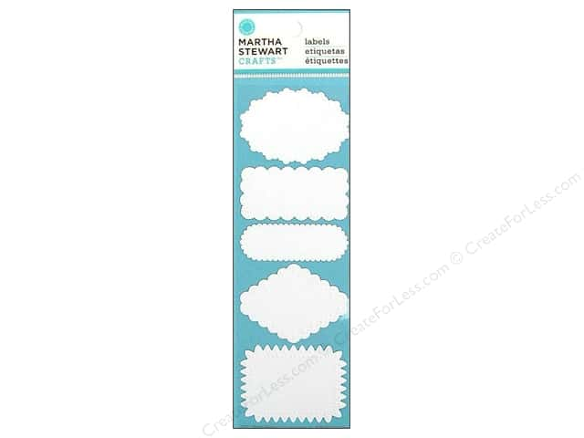 Martha Stewart Embellishment Labels Doily Lace Cherish