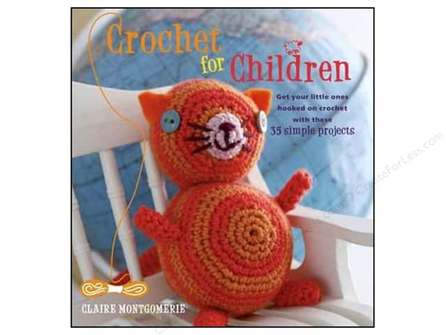 Cico Crochet For Children Book by Claire Montgomerie