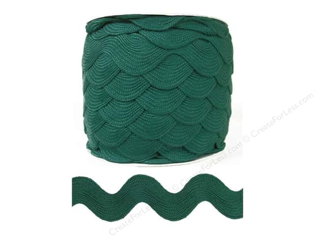 Jumbo Ric Rac by Cheep Trims  1 13/32 in. Surf (24 yards)