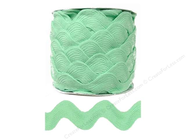 Jumbo Ric Rac by Cheep Trims  1 13/32 in. Mint (24 yards)