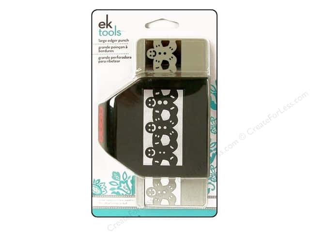 EK Paper Shapers Large Edger Punch Gingerbread Man