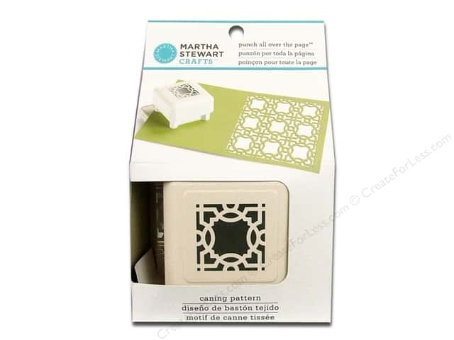 Martha Stewart Punch All Over The Page Caning Pattern