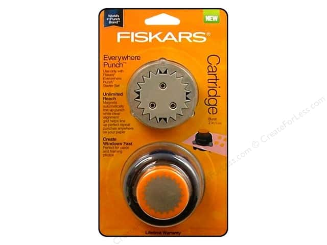 Fiskars Everywhere Punch Burst
