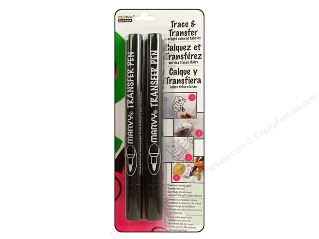 Uchida Trace & Transfer Pen Iron On Bullet Point 2pc