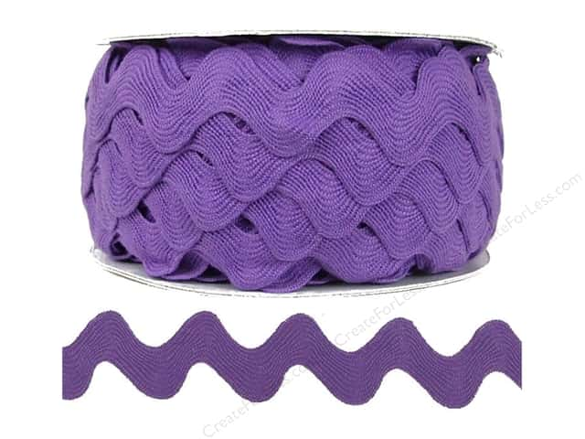 Ric Rac by Cheep Trims  1 in. Lavender (24 yards)