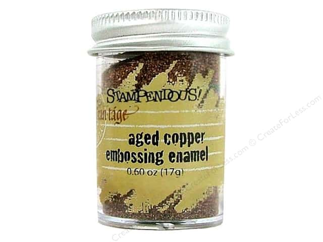 Stampendous Fran-Tage Emboss Tinsel .60oz Aged Copper