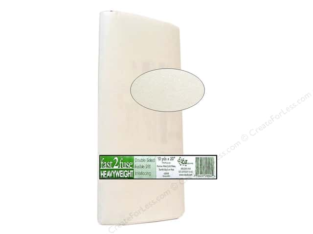C&T Fast2Fuse Interfacing Heavy Weight 20 in. x 10 yd. White (10 yards)