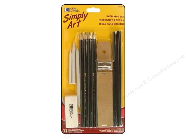 Loew Cornell Simply Art Sketching Set 12pc