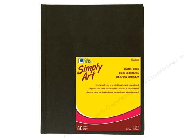 Loew Cornell Simply Art Archival Sketchbook 80sht