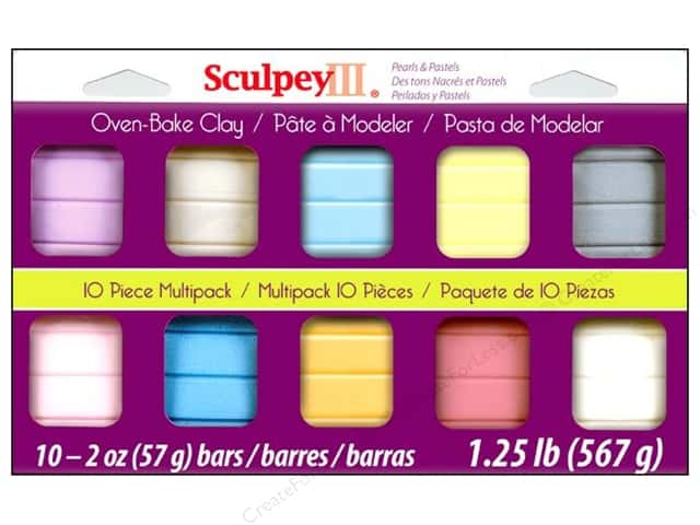 Sculpey III Clay Multipack 10 pc. Pearls & Pastels