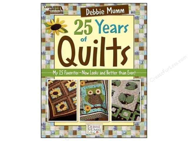 Leisure Arts Debbie Mumm 25 Years Of Quilts Book
