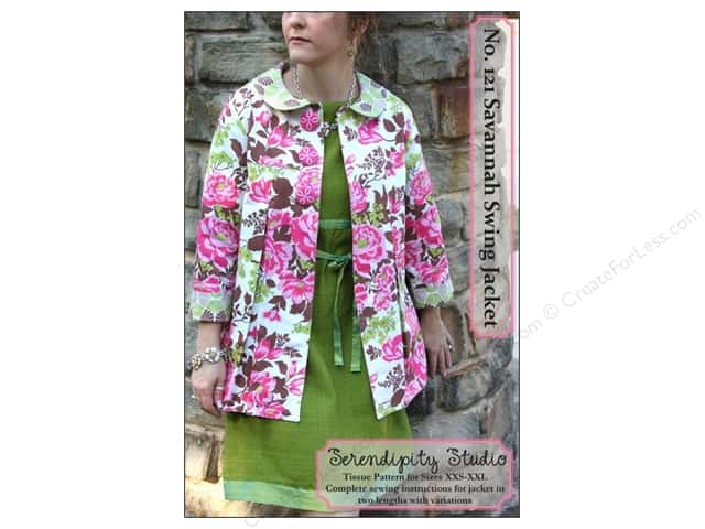 Serendipity Studio Savannah Swing Jacket Pattern