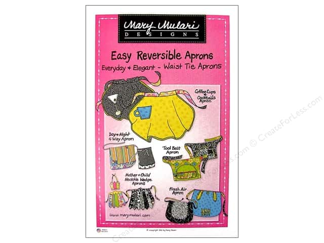Mary Mulari Easy Reversible Waist Tie Apron Pattern