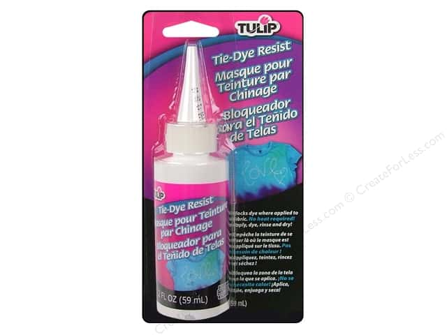 Tulip Tie Dye Accessories Resist  Carded 2 oz.