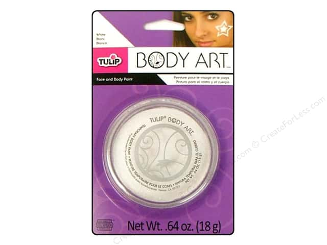 Tulip Body Art Face & Body Paint White 0.64oz