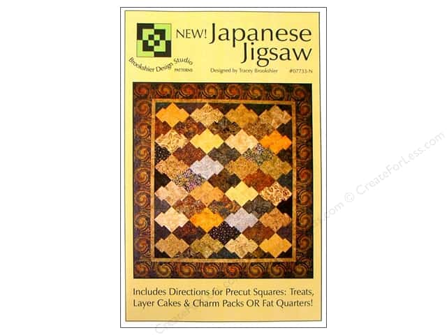 Brookshier Design Studio Japanese Jigsaw Pattern