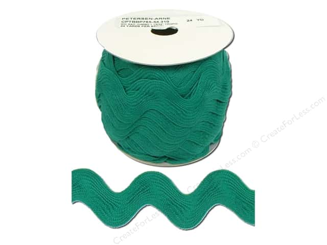 Jumbo Ric Rac by Cheep Trims  1 13/32 in. Tropic (24 yards)