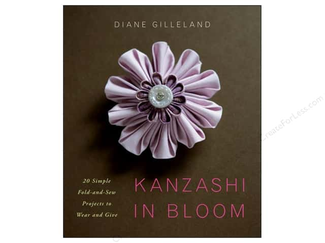 Watson Guptill Kanzashi In Bloom Book