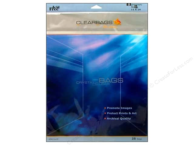 ClearBags Crystal Clear Bag 11 x 14 in. Photo 25 pc.