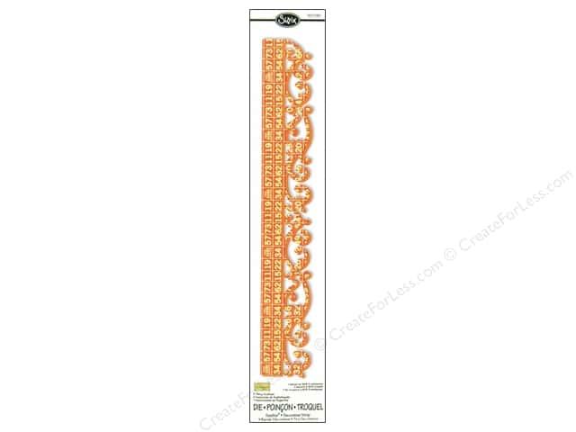Sizzix Sizzlits Decorative Strip Die Royal Swirls by Dena Designs