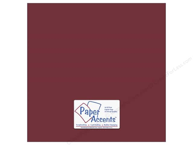 Cardstock 12 x 12 in. #18060 Smooth Brocade by Paper Accents (25 sheets)