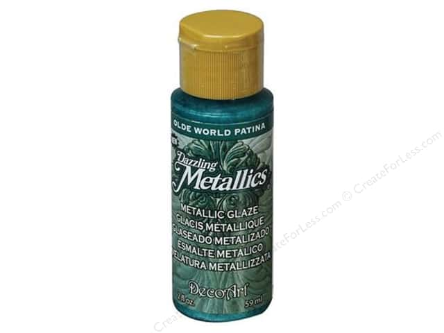 DecoArt Dazzling Metallics Paint 2oz Olde World Patina