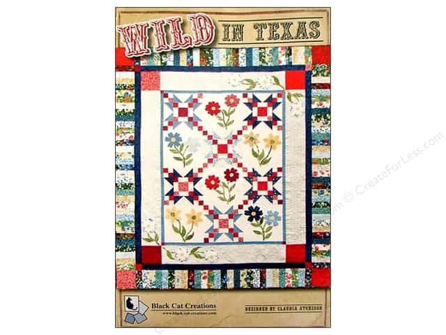 Black Cat Creations Wild In Texas Pattern