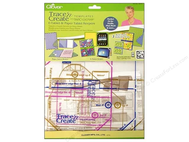 Clover Template Trace N Create Zieman Tablet Keepers