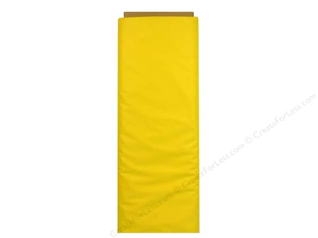 "Babyville Boutique PUL Fabric 64"" Neutral Solid Bright Yellow (8 yards)"