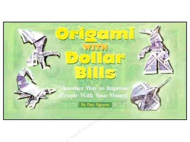 Sterling Origami With Dollar Bills Book