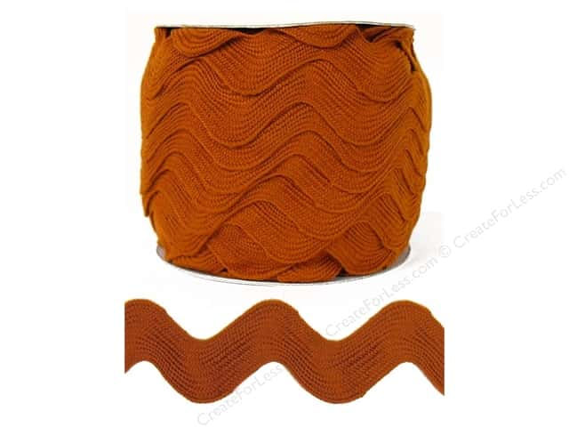 Jumbo Ric Rac by Cheep Trims  1 13/32 in. Rust (24 yards)