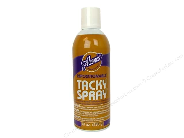 Aleene's Repositionable Tacky Spray Adhesive 10oz