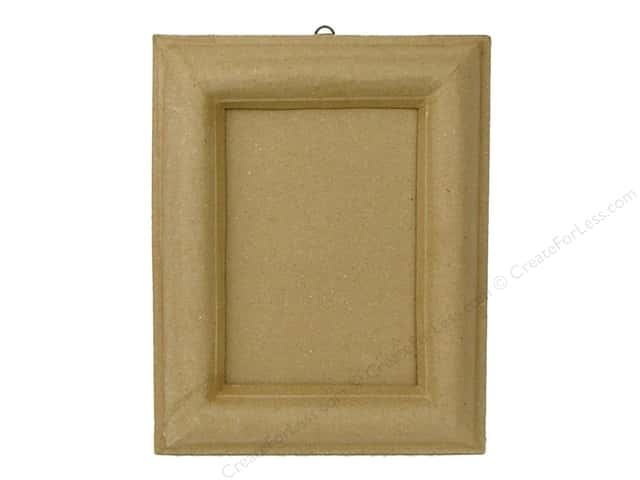 Paper Mache Frame 5 x 7 in. Photo Slot by Craft Pedlars