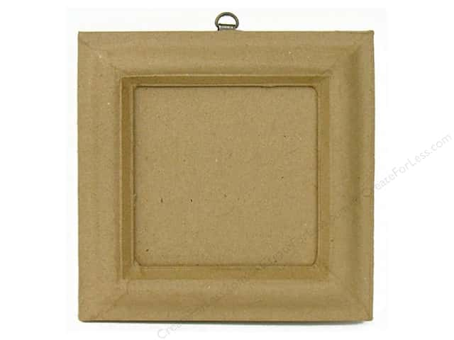 Paper Mache Frame with 3 3/4 in. Slot for Photo by Craft Pedlar