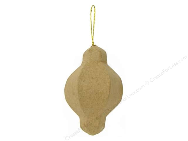 Paper Mache Bulging Ornament by Craft Pedlars (3 pieces)