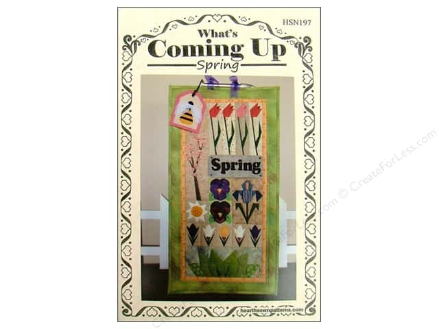 Hearthsewn What's Coming Up Spring Pattern