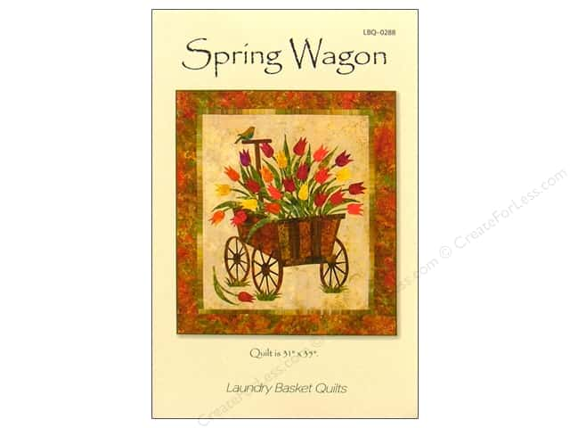 Laundry Basket Quilts Spring Wagon Pattern