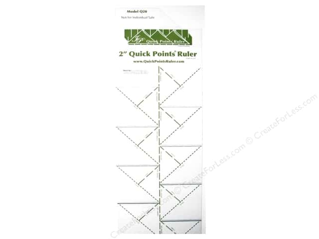 Quick Points Ruler Prairie Point 2""
