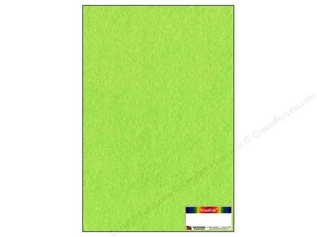 National Nonwovens WoolFelt 12 x 18 in. 20% Grass Skirt (10 sheets)