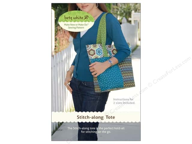 Betz White Stitch Along Tote Pattern