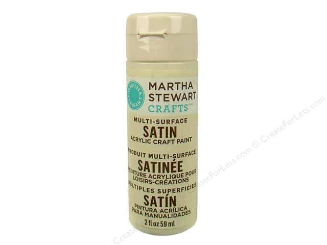 Martha Stewart Craft Paint by Plaid Satin Summer Linen 2oz