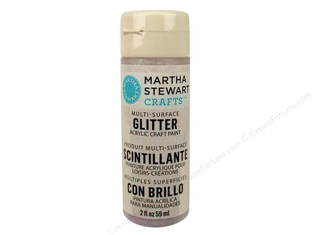 Martha Stewart Craft Paint by Plaid Glitter Sugar Cube 2oz
