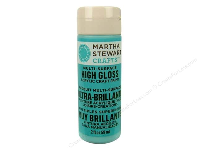 Martha Stewart Craft Paint by Plaid Gloss Surf 2oz