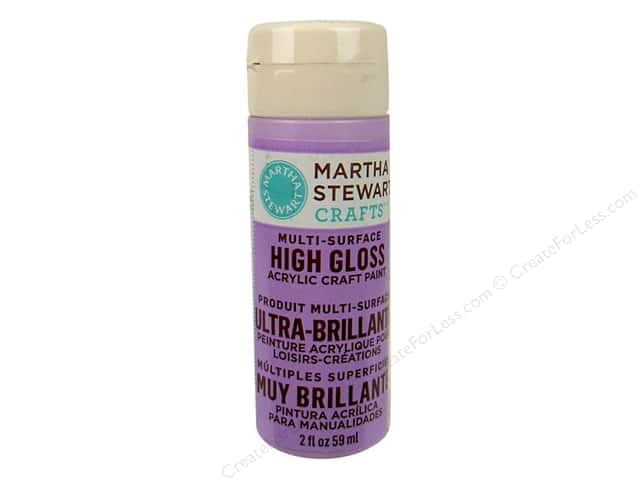 Martha Stewart Craft Paint by Plaid Gloss Hydrangea Purple 2 oz.
